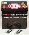 Automotive Racing batteries with real carbon fiber!
